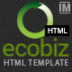 ECOBIZ -  Business and Corporate HTML Template - ThemeForest Item for Sale