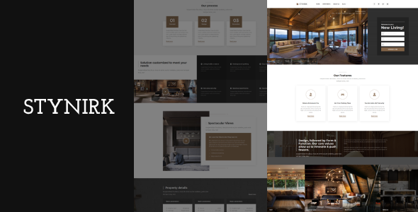 Stynirk - Single Property WordPress Theme