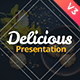 Delicious Presentation Template - GraphicRiver Item for Sale