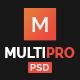 MultiPro   Multi-Purpose PSD Template - ThemeForest Item for Sale