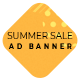 Summer Sale - HTML Ad Banner Template - CodeCanyon Item for Sale
