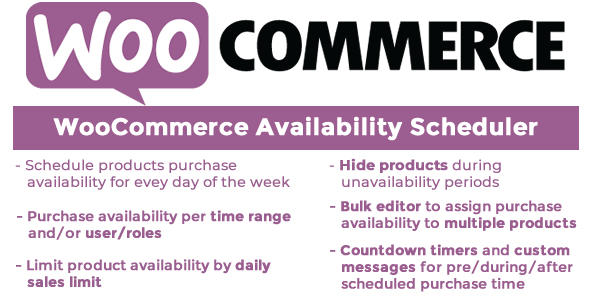 WooCommerce Availability Scheduler Download