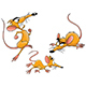 Different Poses of a Cartoon Mouse Vector - GraphicRiver Item for Sale