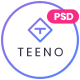 Teeno - App Landing Page - ThemeForest Item for Sale
