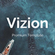 Vizion Premium Powerpoint Template - GraphicRiver Item for Sale