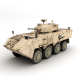Armoured personnel carrier - 3DOcean Item for Sale
