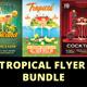 Tropical Flyer Bundle - GraphicRiver Item for Sale