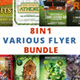 Various Flyer Bundle 8 In 1 - GraphicRiver Item for Sale