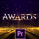 Awards Titles Golden Lines - VideoHive Item for Sale