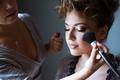Wedding makeup artist making a make up for bride - PhotoDune Item for Sale