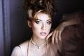 Fashionable female portrait of elegant lady with jewelry indoors - PhotoDune Item for Sale