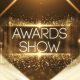 Gold Particles Awards Show - VideoHive Item for Sale