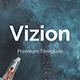 Vizion Premium Google Slide Template - GraphicRiver Item for Sale