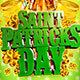 St. Patrick's Day 2019 Flyer Template - GraphicRiver Item for Sale