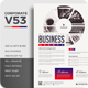 Corporate V53 Flyer - GraphicRiver Item for Sale