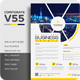 Corporate V55 Flyer - GraphicRiver Item for Sale