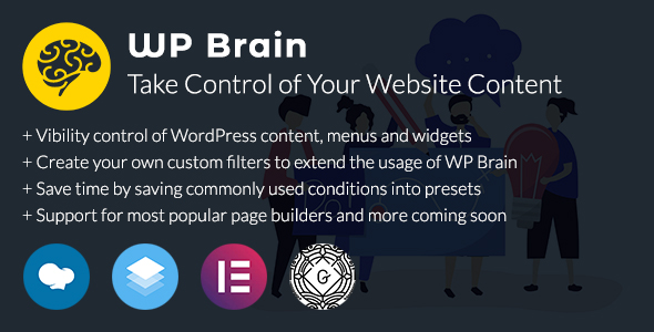 WP Brain - WordPress Logic Controller