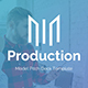 Model Production Pitch Deck Powerpoint Template - GraphicRiver Item for Sale