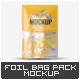 Foil Bag Mock-Up - GraphicRiver Item for Sale