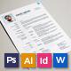 Resume/CV - Plus - GraphicRiver Item for Sale