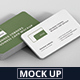 Business Card Mockup Stack 90x50 Round Corners - GraphicRiver Item for Sale