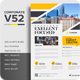 Corporate V52 Flyer - GraphicRiver Item for Sale