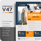 Corporate V47 Flyer - GraphicRiver Item for Sale
