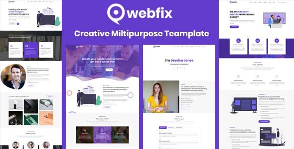 Webfix - Creative Multipurpose Template