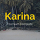 Karina Creative Powerpoint Template - GraphicRiver Item for Sale