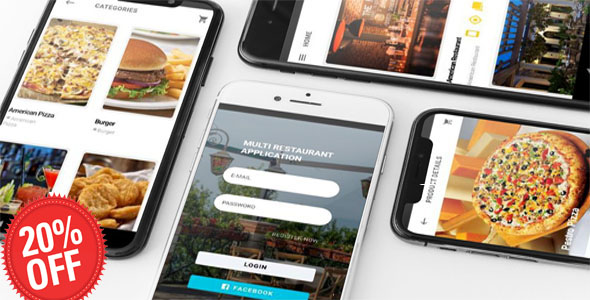 IONIC 4 + FIREBASE MULTI RESTAURANT APP with ANGULAR 7 + FIREBASE SUPER ADMIN WEBBACKEND
