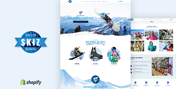 Skiz | Ski Boards Shopify Theme