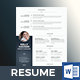 Resume Design - GraphicRiver Item for Sale