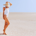 Travel Girl. Desert. Canary island - PhotoDune Item for Sale