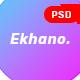 Ekhano - Corporate PSD Template - ThemeForest Item for Sale
