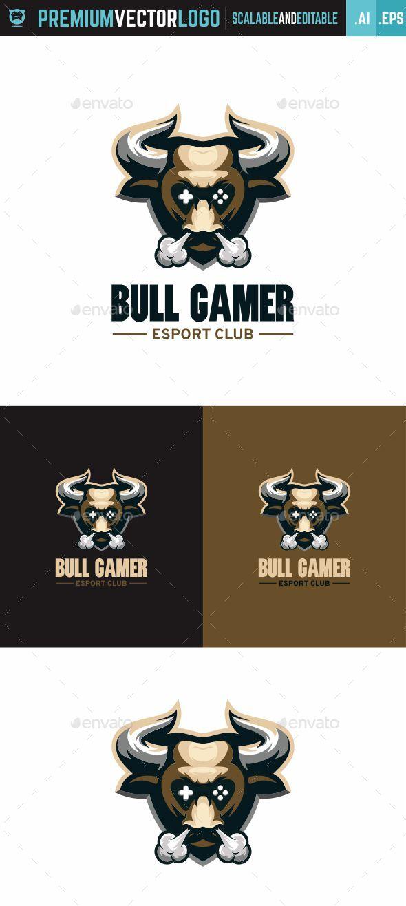 Bull Gamer Logo