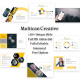 Multican Creative PowerPoint Template - GraphicRiver Item for Sale