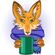 Fox with Mug in Paws - GraphicRiver Item for Sale