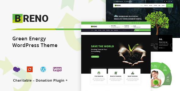 Breno - Green Energy WordPress Theme