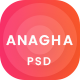 Anagha - Business and Corporate PSD Templates - ThemeForest Item for Sale