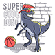 Athletic Dino - GraphicRiver Item for Sale