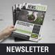 Newsletter Design v5 - GraphicRiver Item for Sale