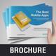 Mobile Apps Promotion Brochure v2 - GraphicRiver Item for Sale
