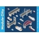 Isometric Models of Ships - GraphicRiver Item for Sale