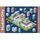 Vector Isometric Urban Architecture - GraphicRiver Item for Sale