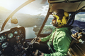 Helicopter pilot.  - PhotoDune Item for Sale