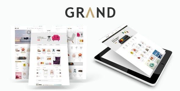 Grand - Responsive Furniture WooCommerce WordPress Theme