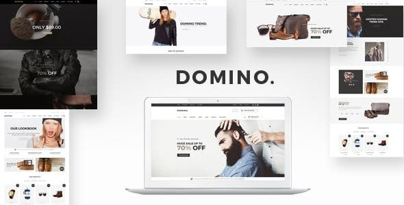Domino - Fashion Responsive WordPress Theme