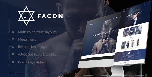 Facon - Fashion Responsive WordPress Theme