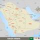 Map of Saudi Arabia - GraphicRiver Item for Sale