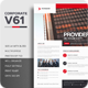 Corporate V61 Flyer - GraphicRiver Item for Sale